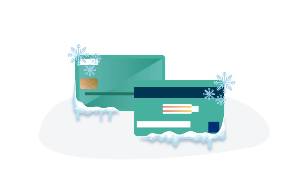 Al reportar la perdida o robo de tarjeta, ésta es congelada.